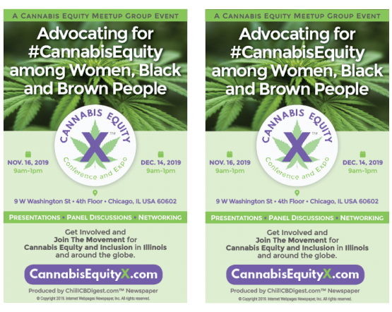 CannabisEquityX™ Conference and Expo 2-Up Flyer